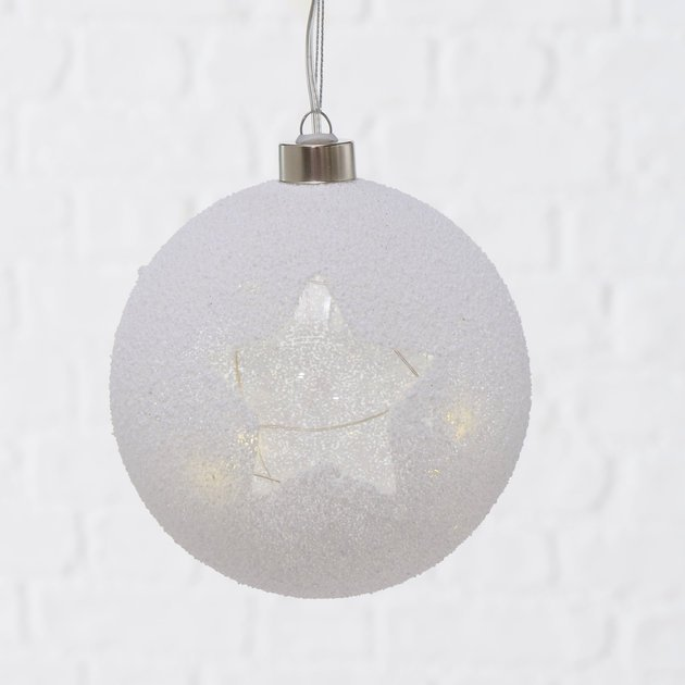 Boltze LED Weihnachtskugel Felino