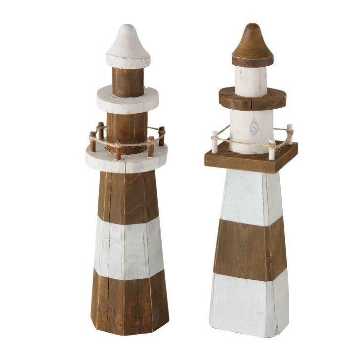 Boltze Leuchtturm Dekoaufsteller Melino