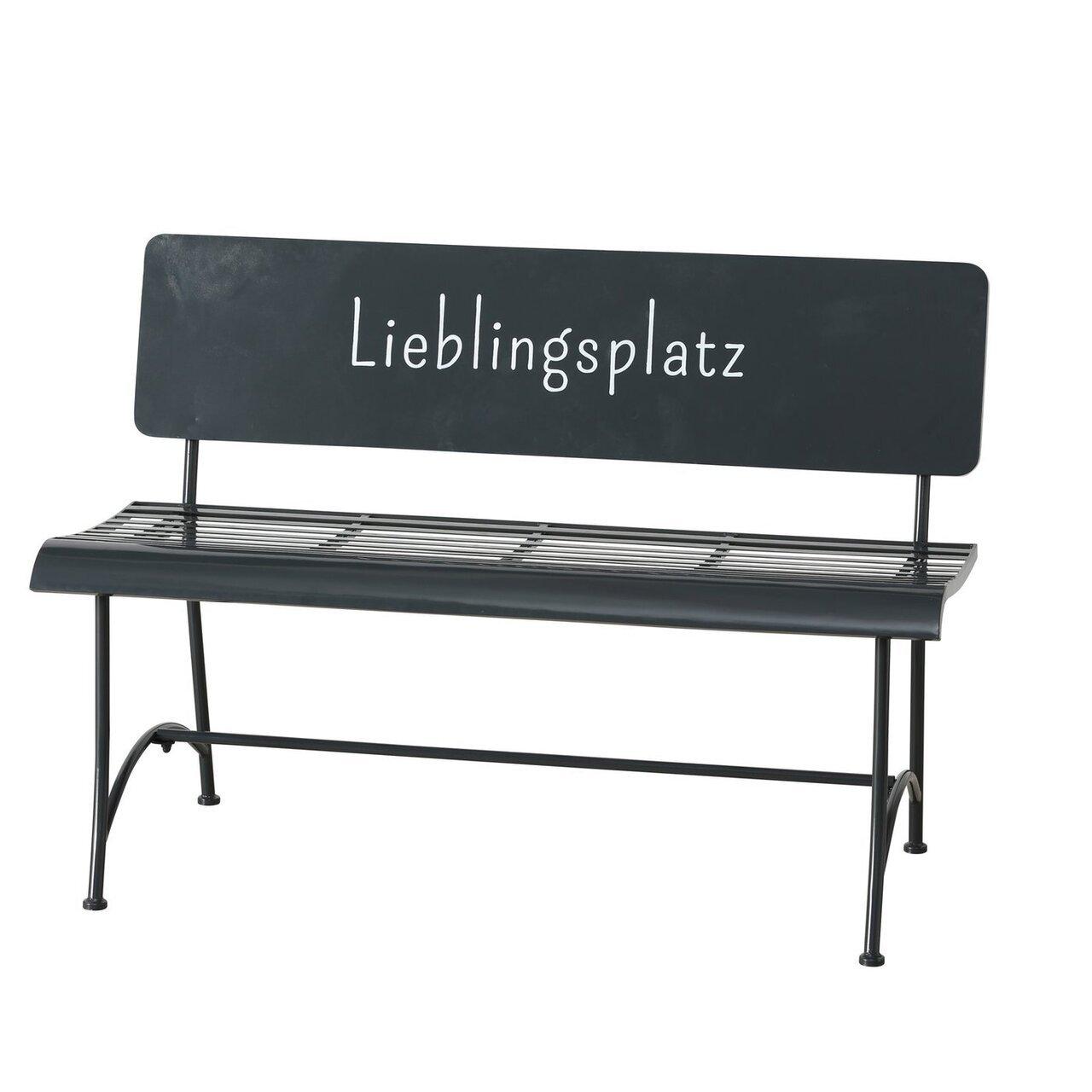 Boltze Metall Bank Lieblingsplatz