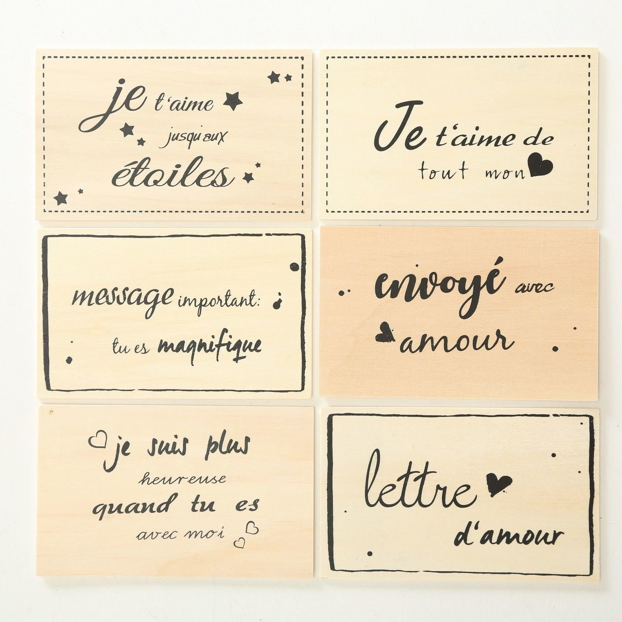 Boltze Postkarte Amour 6er Set