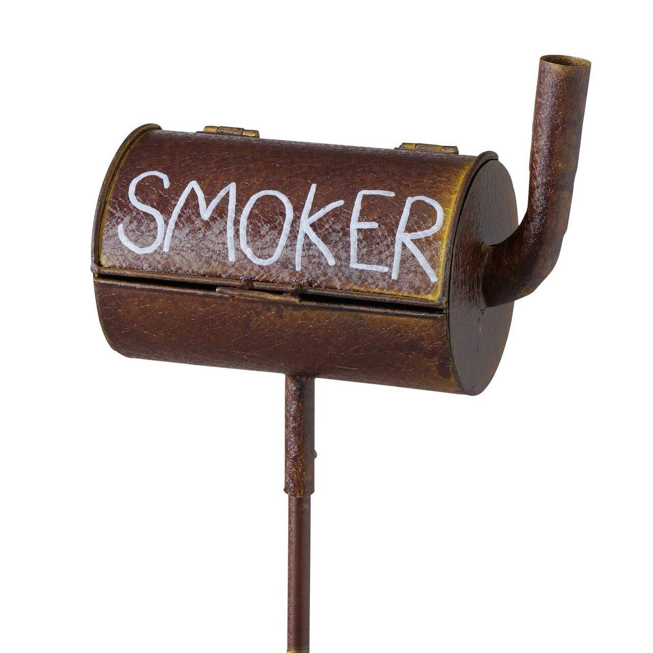 Boltze Sturmaschenbecher Smoker auf Stab