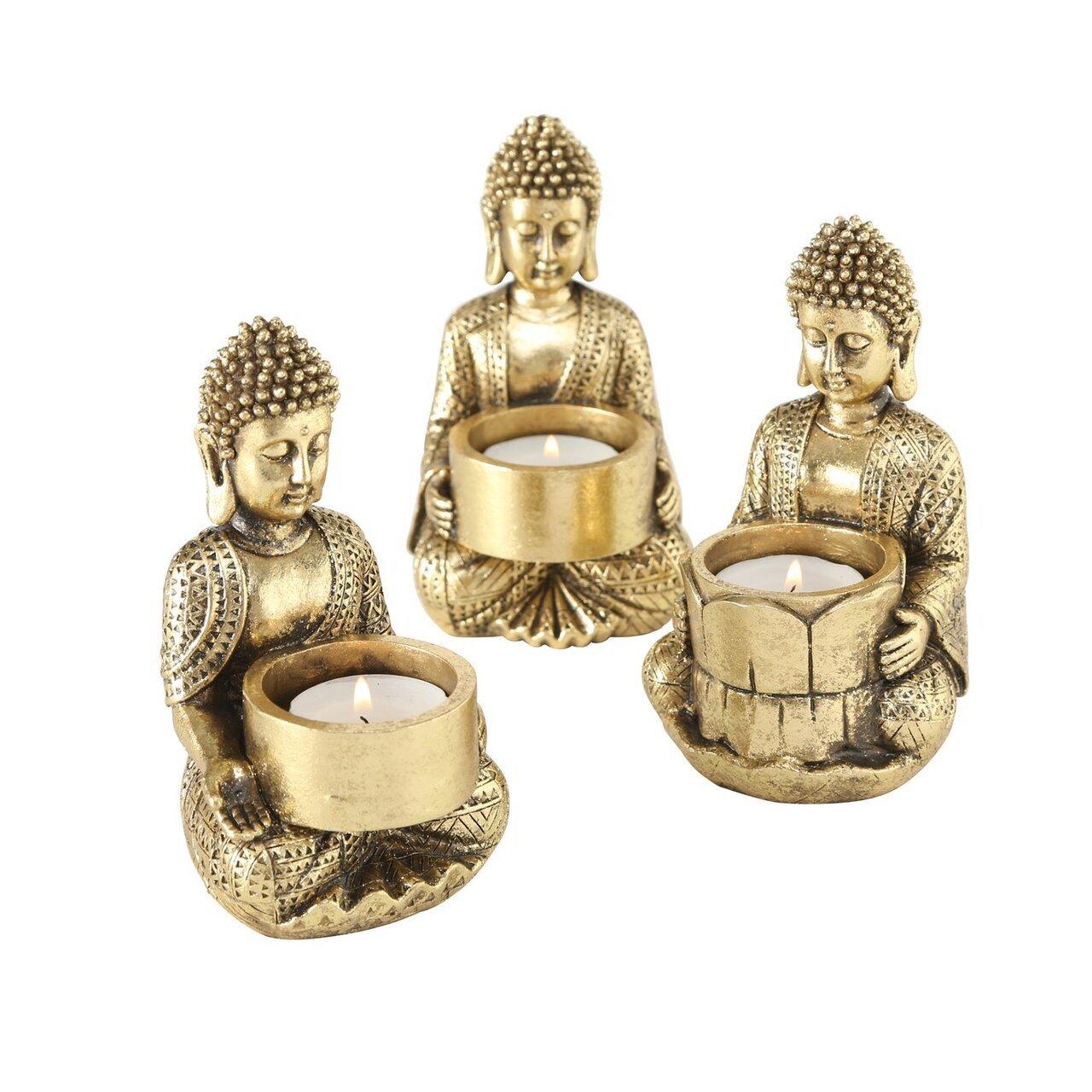 Boltze Teelichthalter Jarven 3er Set