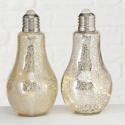 Boltze LED Tischlampe Bulb 2er Set