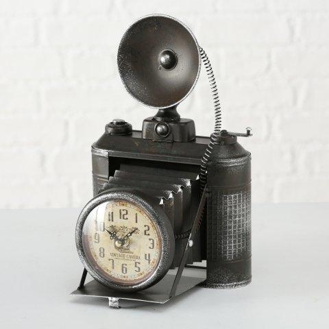 Boltze Tischuhr Fotoapparat