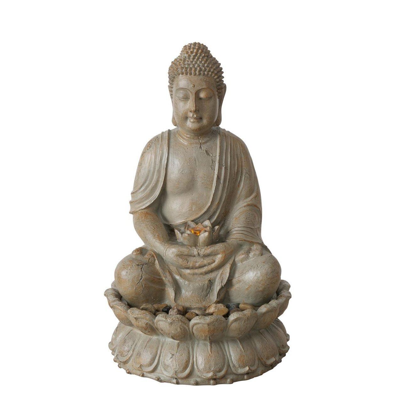 Boltze Brunnen Buddha Figur