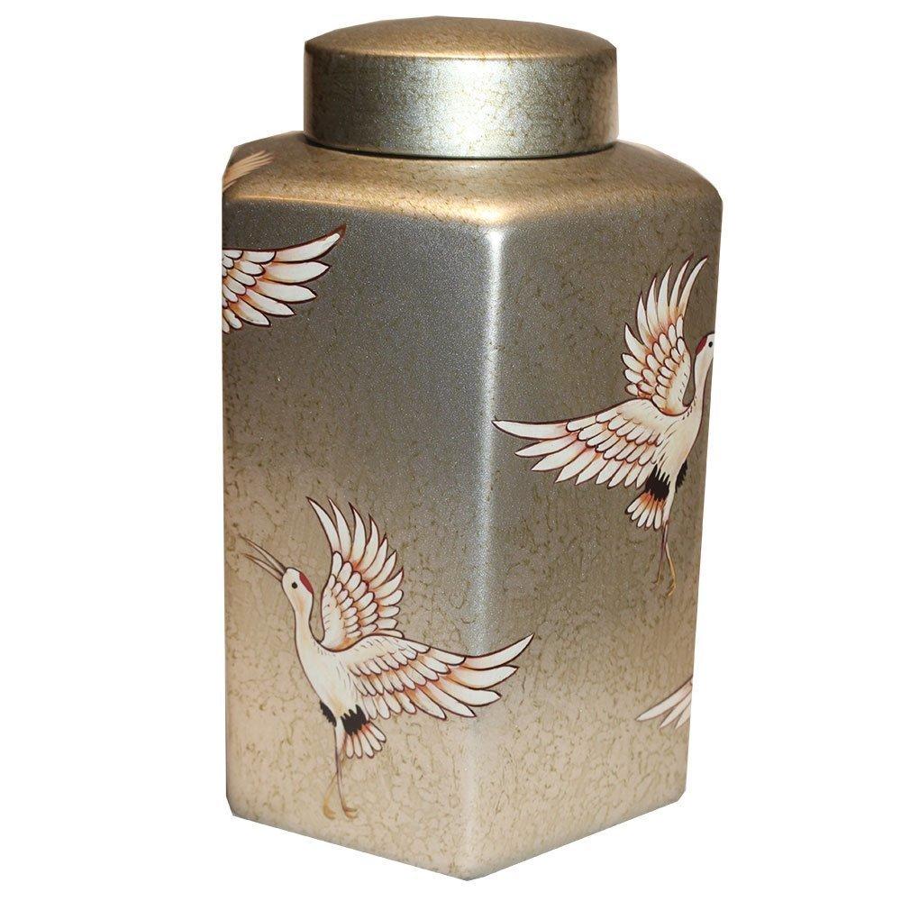 byRoom Behälter mit Deckel Golden Crane
