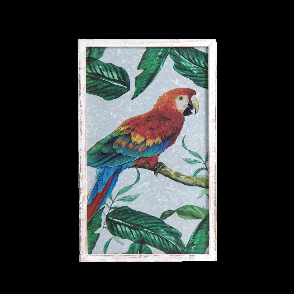 byRoom Bild mit Rahmen Parrot