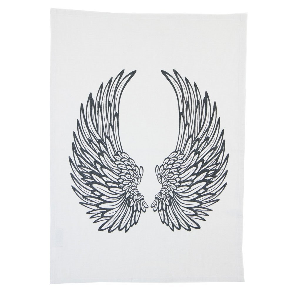 byRoom Geschirrhandtuch Angel Wings