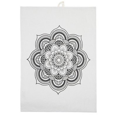 byRoom Geschirrhandtuch Lotus Flower