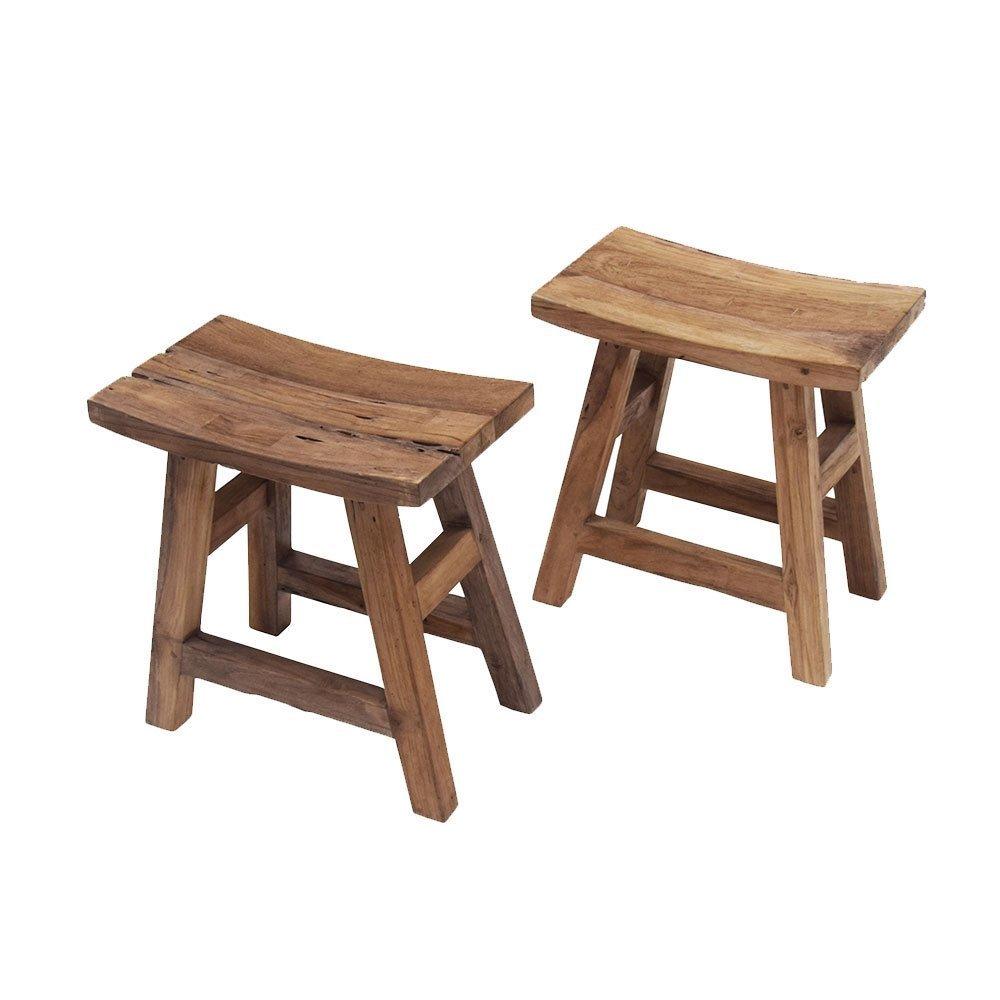 byRoom Hocker aus Teak Holz