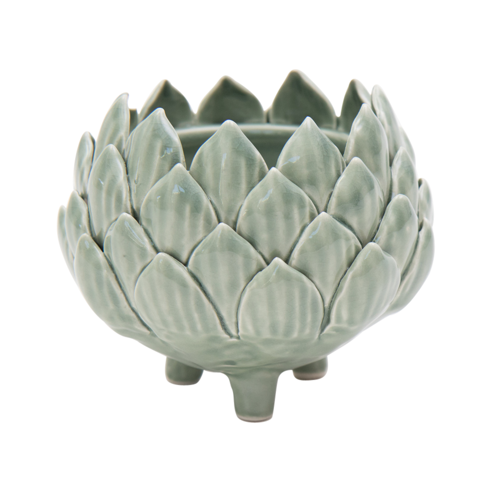 byRoom Keramik Topf Lotus Blüte