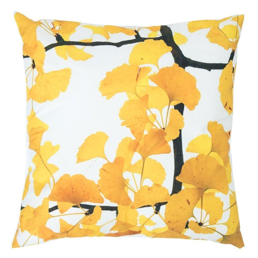 byRoom Kissen für Draußen Yellow Leaf