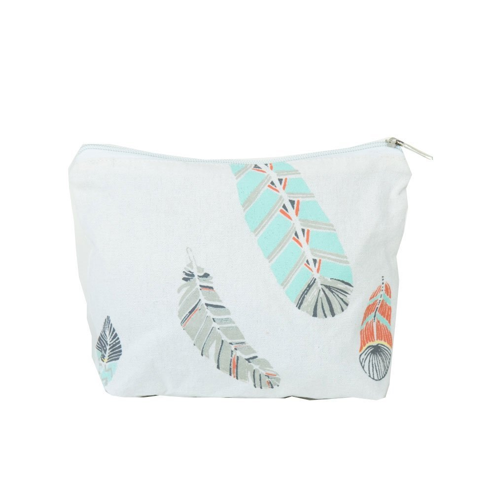 byRoom Kosmetiktasche Feather Print