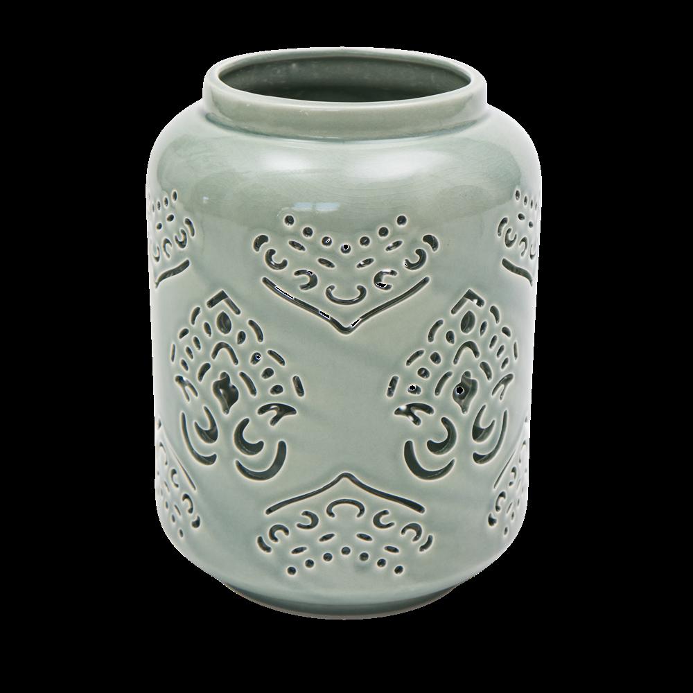 byRoom Laterne aus Keramik Big