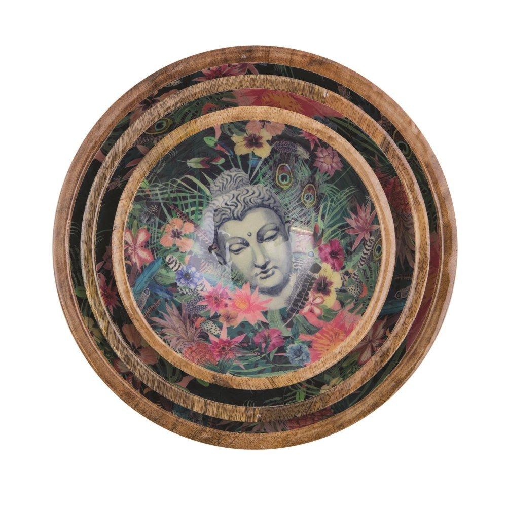 byRoom Mango Schüssel Set Buddha 3er