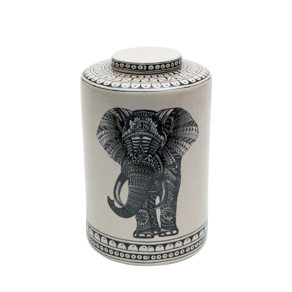byRoom Porzellan Behälter mit Elefant