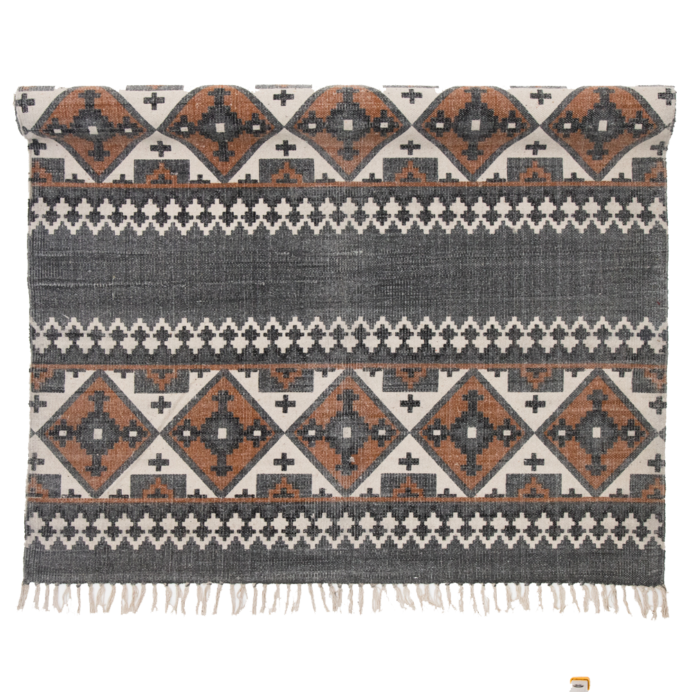 byRoom Teppich mit Mosaik Muster