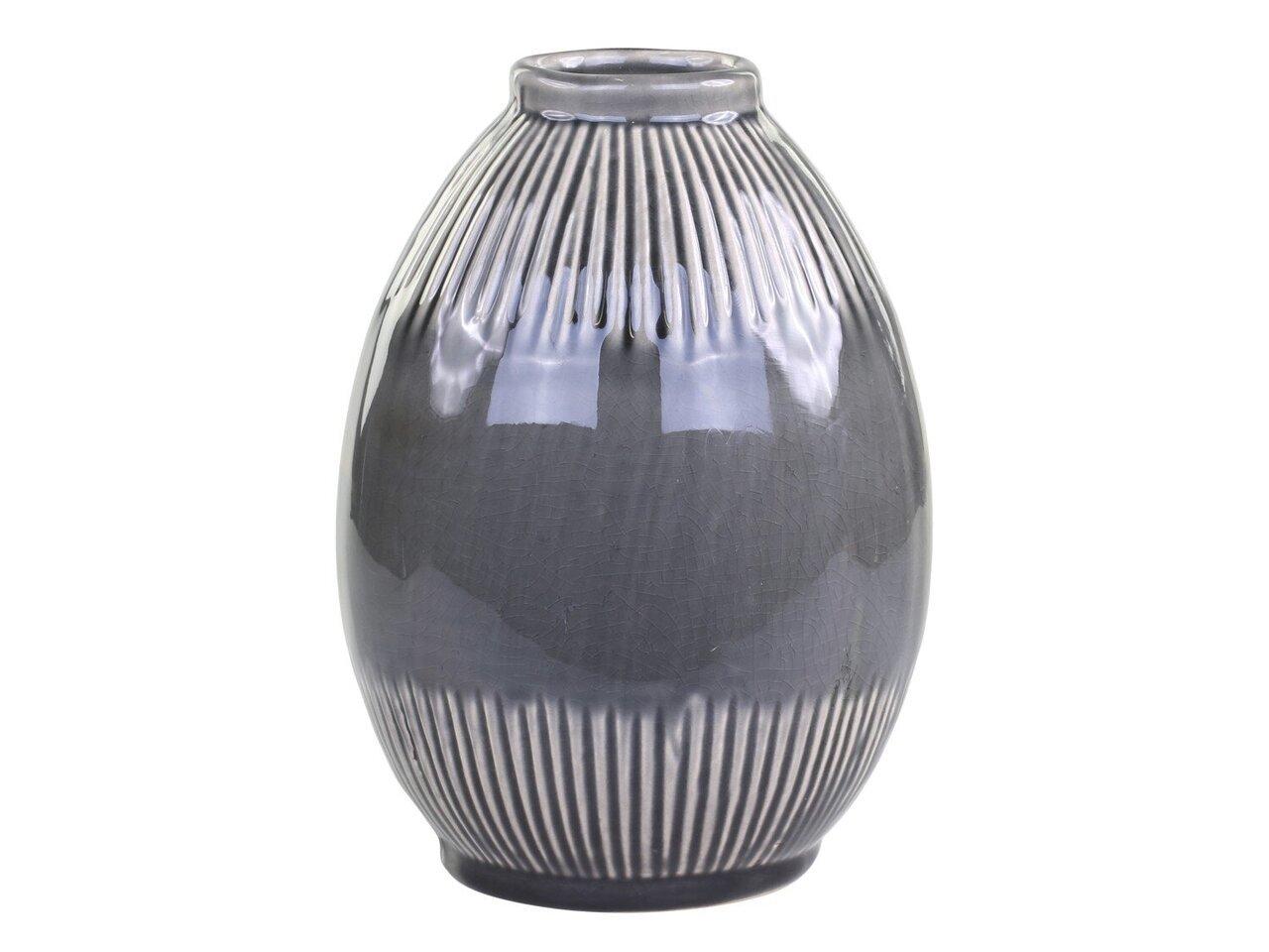 Chic Antique Alsace Vase mit gestreiftem Muster