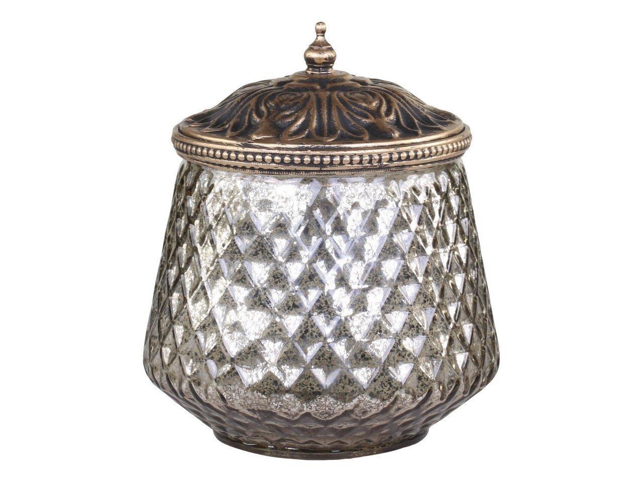 Chic Antique Aufbewahrungsglas mit Perlenkante