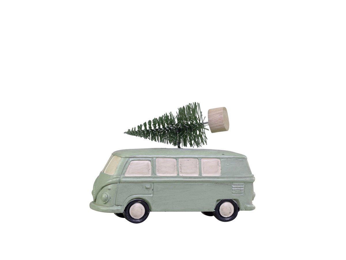 Chic Antique Baumschmuck Bus mit Paketen