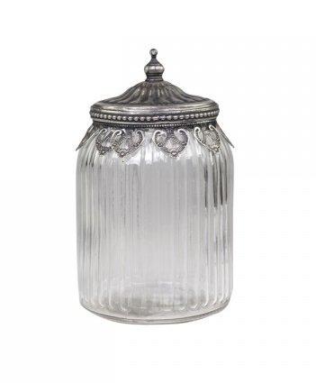 Chic Antique Behälter mit Dekorkante und Deckel