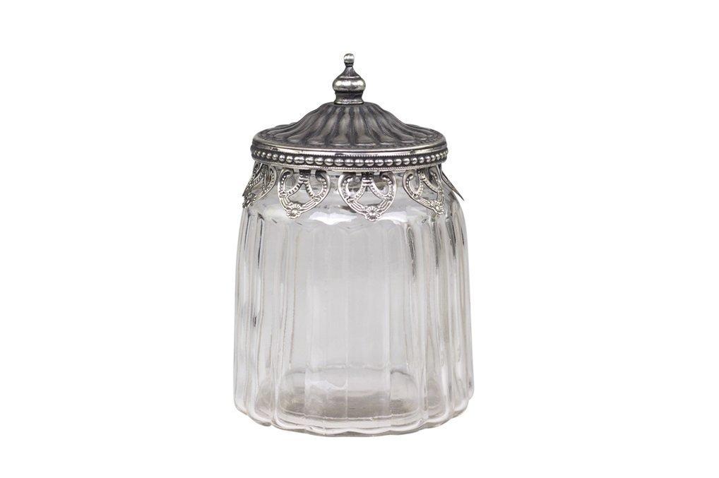 Chic Antique Behälter mit Dekorkante und Henkel