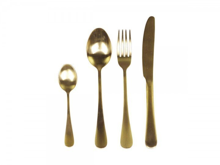 Chic Antique Besteck Nordique Set Gold