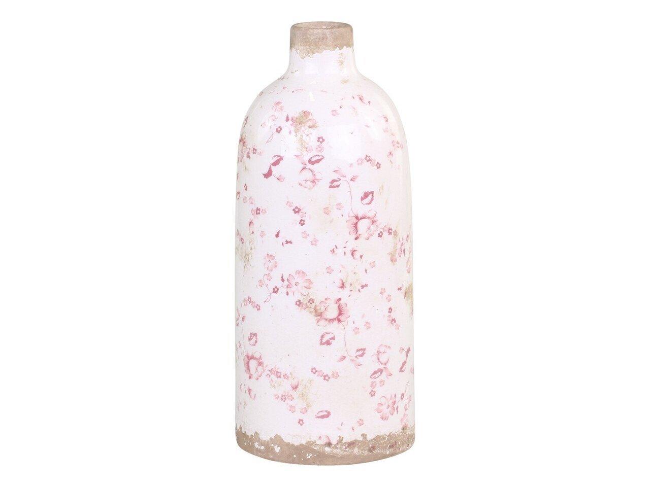 Chic Antique Cannes Vase mit Blumenmotiv