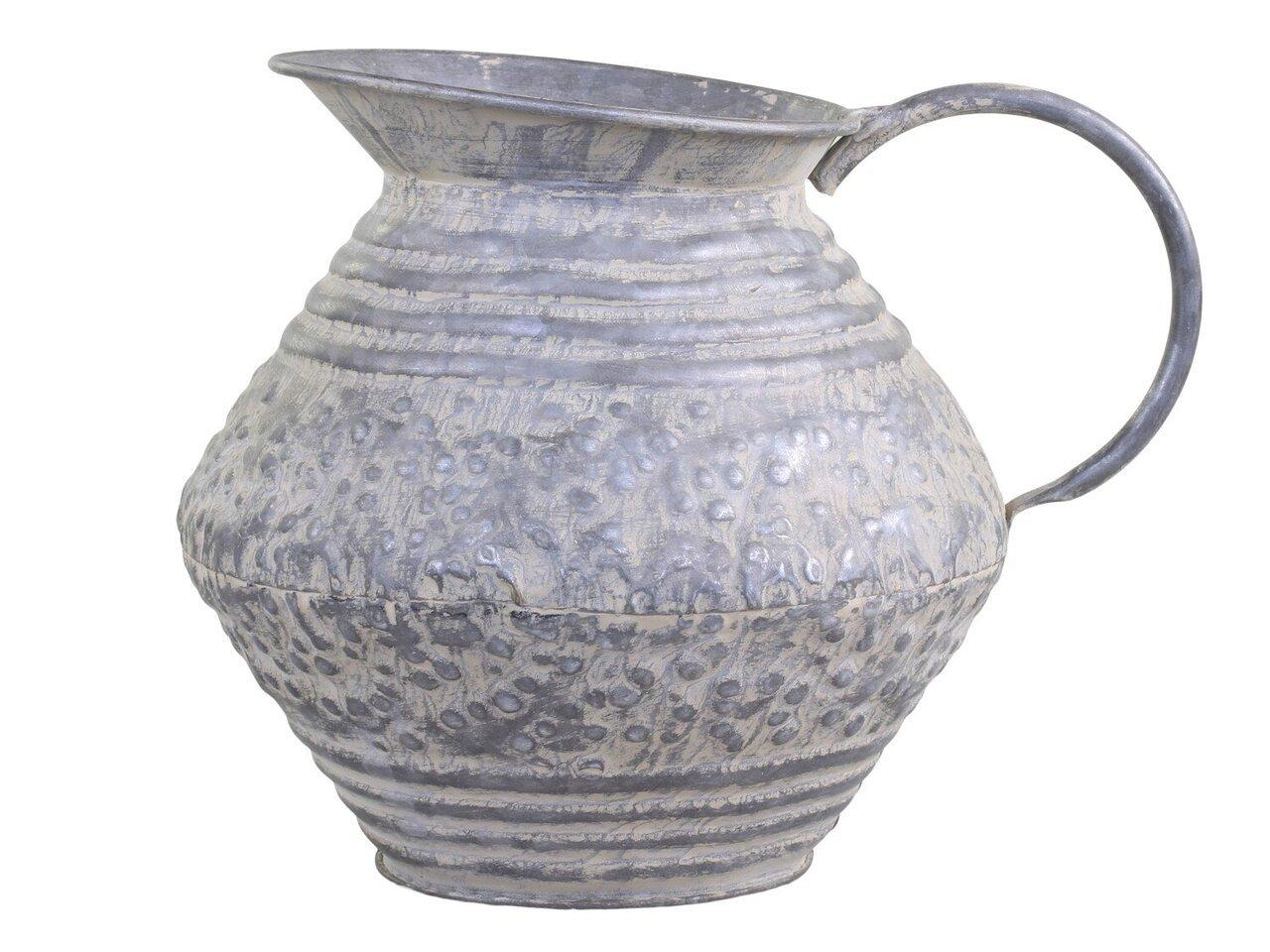 Chic Antique Deko Kanne aus Eisen