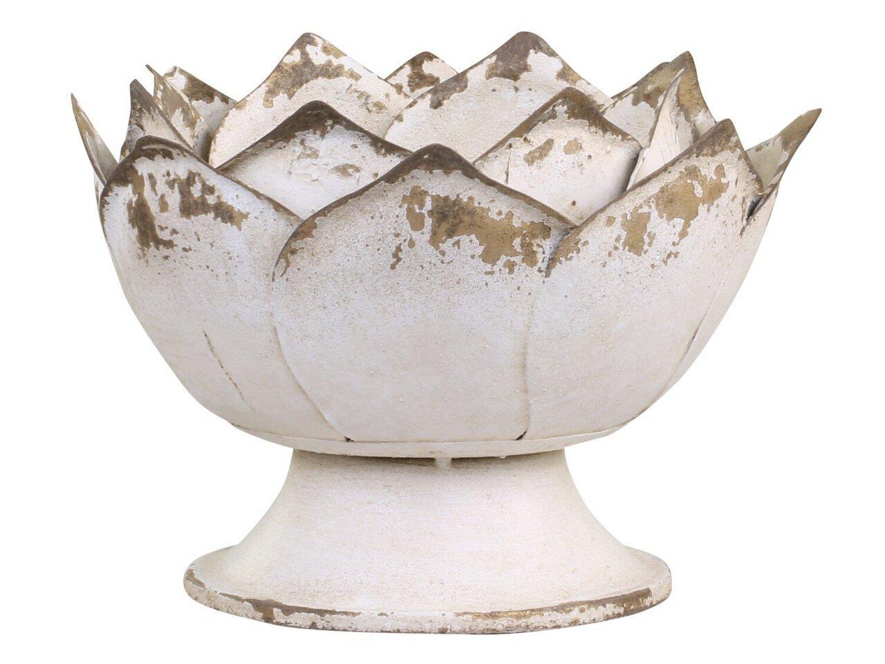 Chic Antique Dekoschale Lotusblume