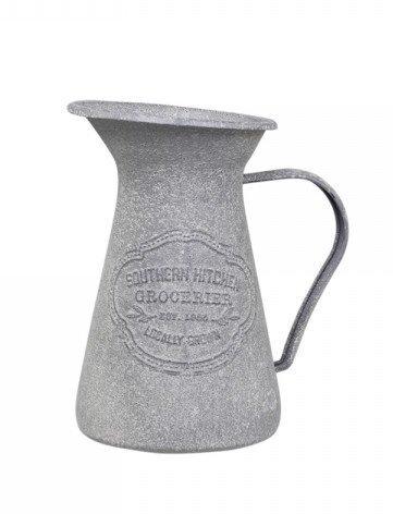 Chic Antique Eisen Kanne zur Dekoration