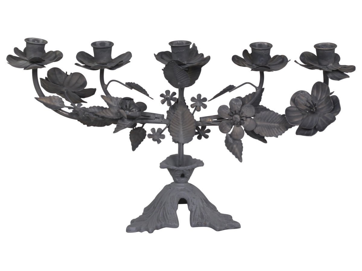 Chic Antique Franz. Kerzenständer für 5 Kerzen