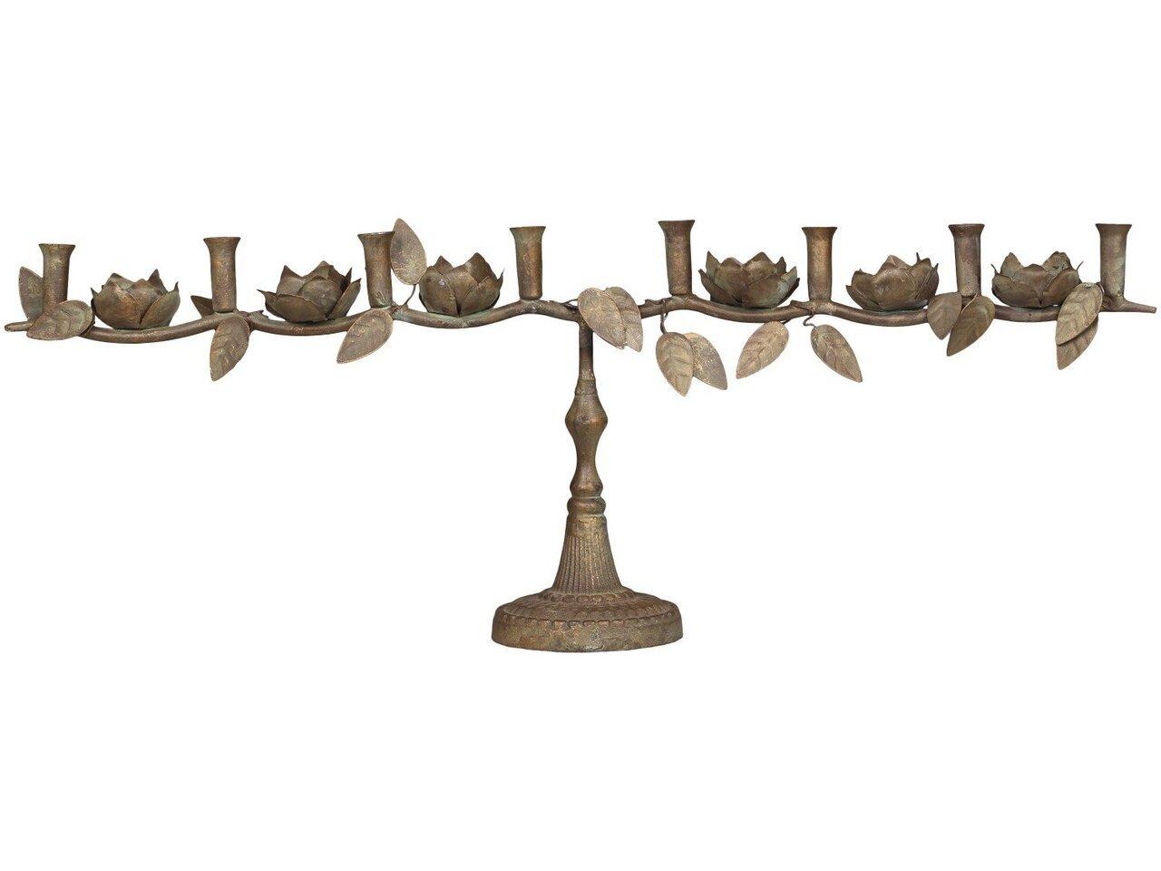 Chic Antique Französischer Kerzenständer für 8 Kerzen