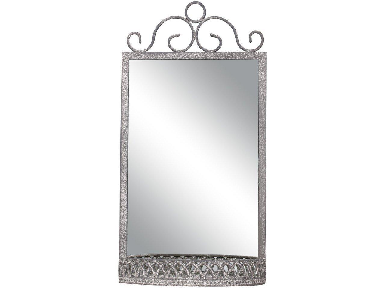 Chic Antique Französischer Spiegel mit Ablage
