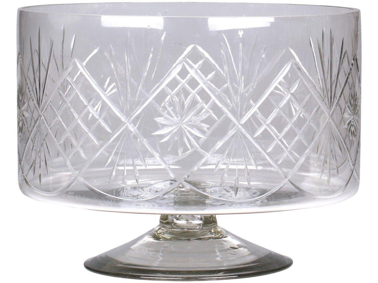 Chic Antique Glasbehälter mit Schliff