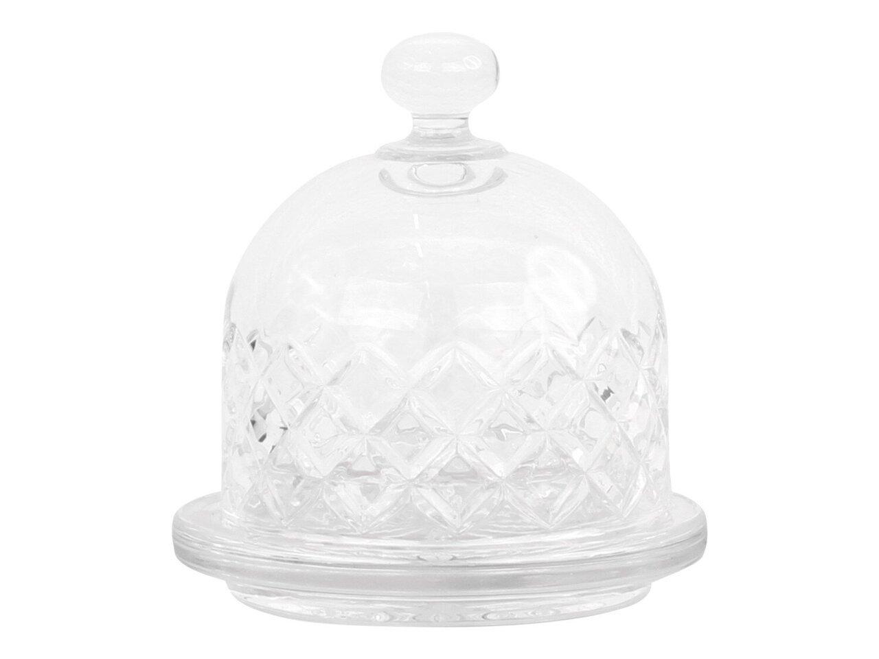Chic Antique Glasglocke mit Diamantenschliff