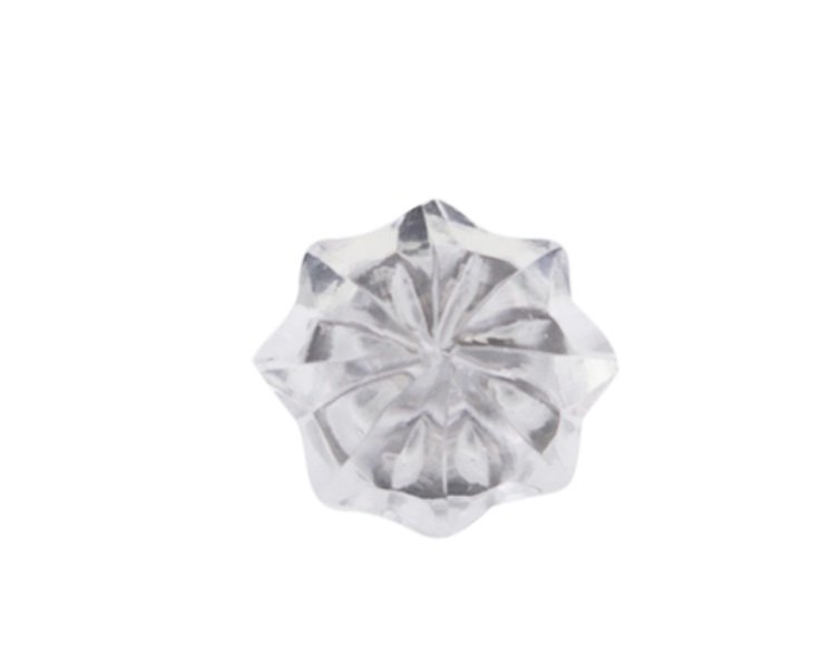 Chic Antique Griff Diamant Glas