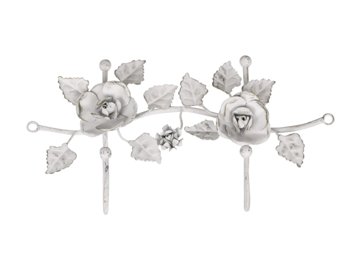 Chic Antique Haken mit Rosen