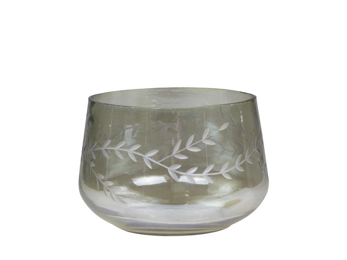 Chic Antique Hurricane Kerzenglas mit Schliffen