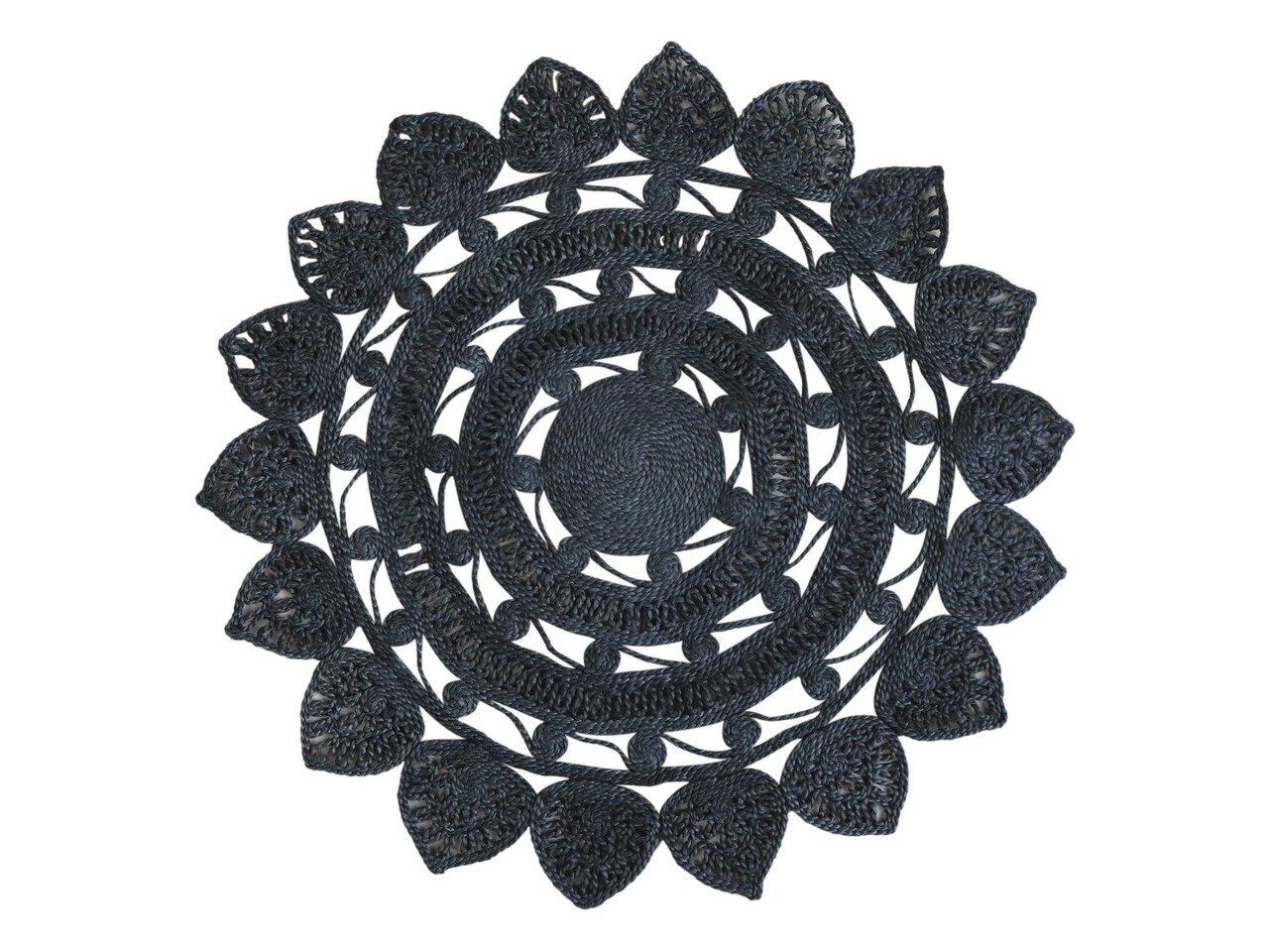 Chic Antique Jute Teppich mit Muster