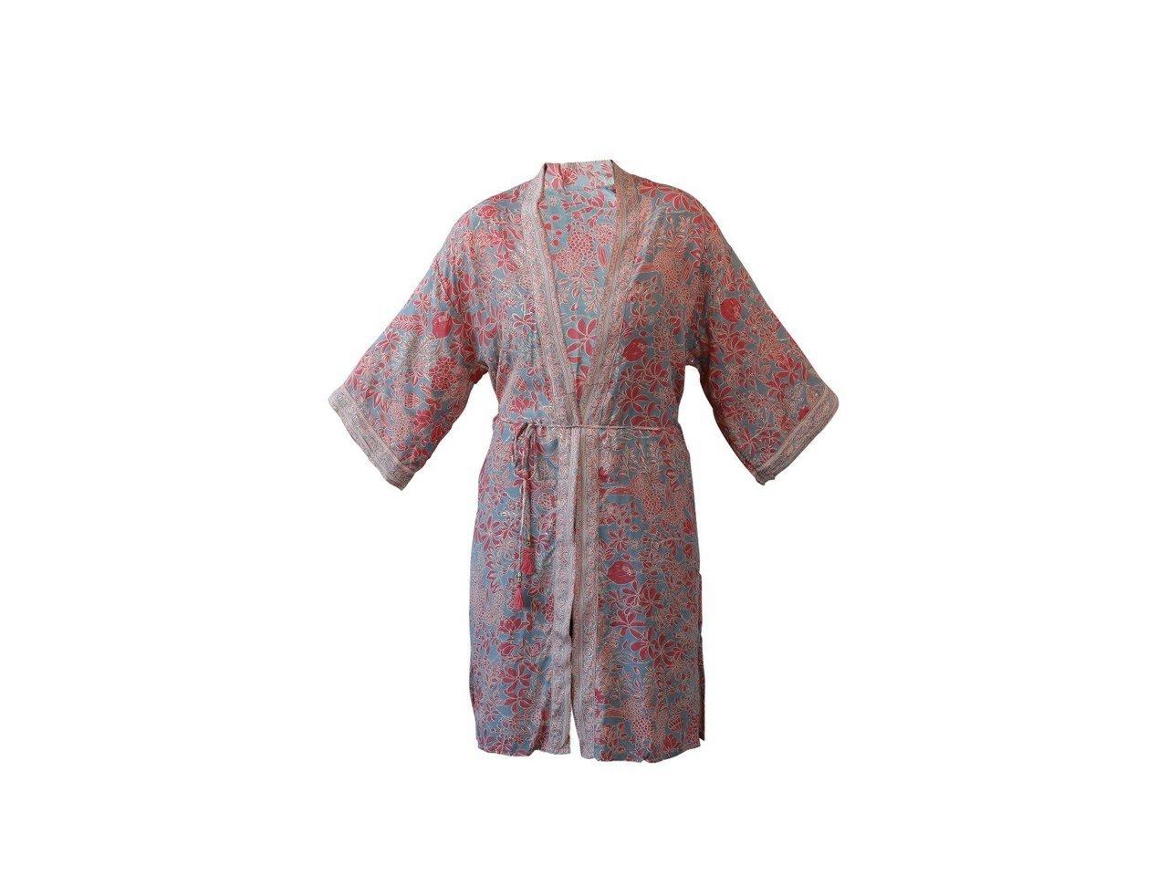 Chic Antique Kimono mit Bindegürtel