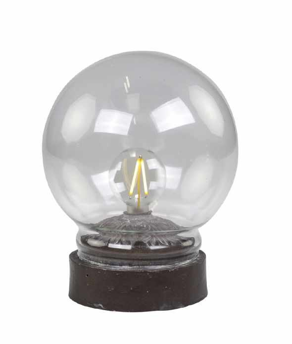 Chic Antique Lampe mit Glühbirne