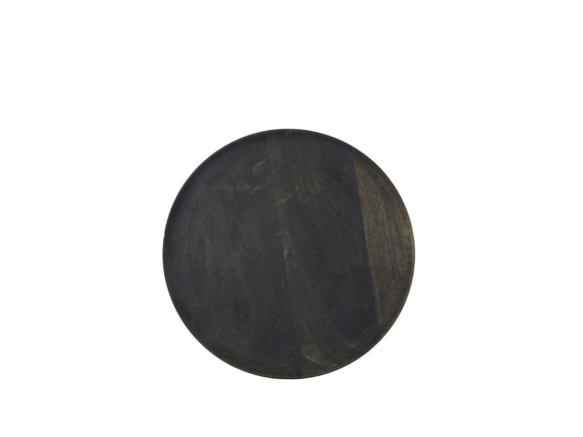 Chic Antique Laon Platzteller aus Mangoholz dunkel