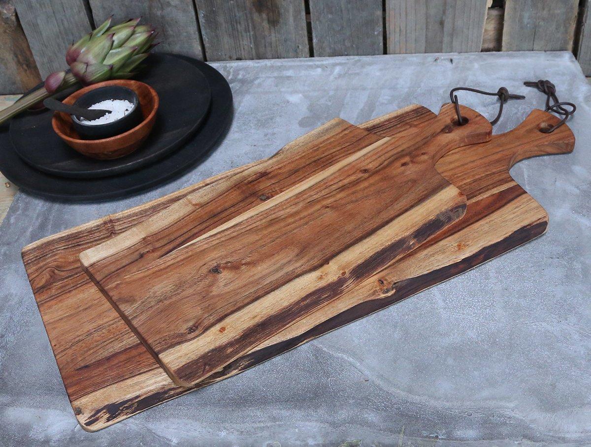 Impressionen zu Chic Antique Laon Tapasbrett aus Akazienholz, Bild 1