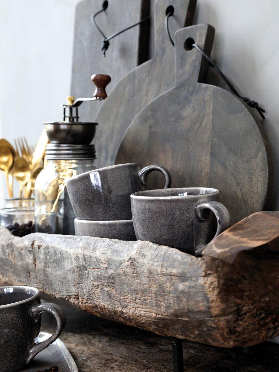 Impressionen zu Chic Antique Laon Tapasbrett Akazienholz rund, Bild 2