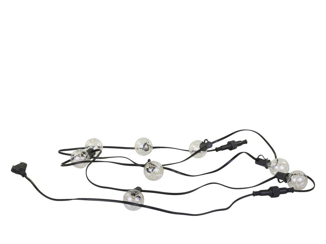 Chic Antique Lichterkette mit LED Glühbirnen