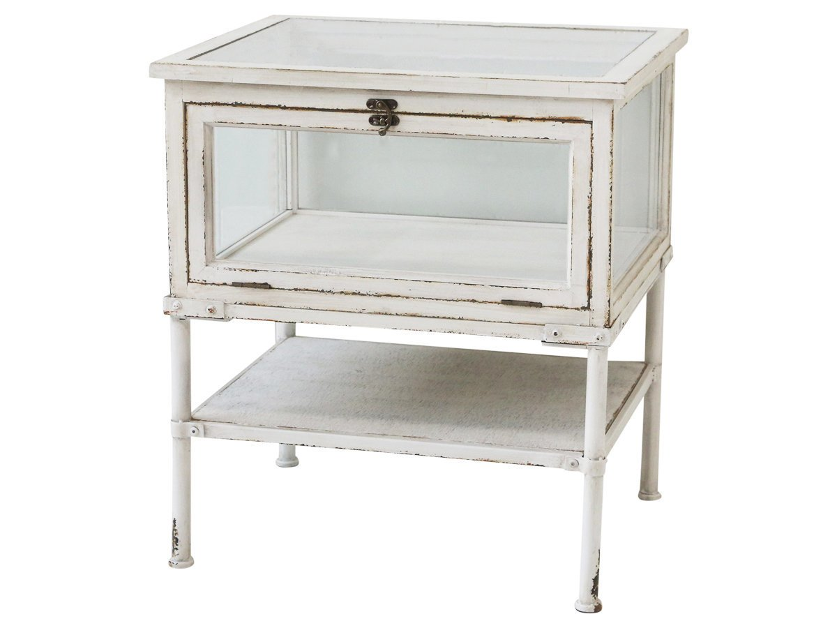 Chic Antique Lunel Kommode mit Glas