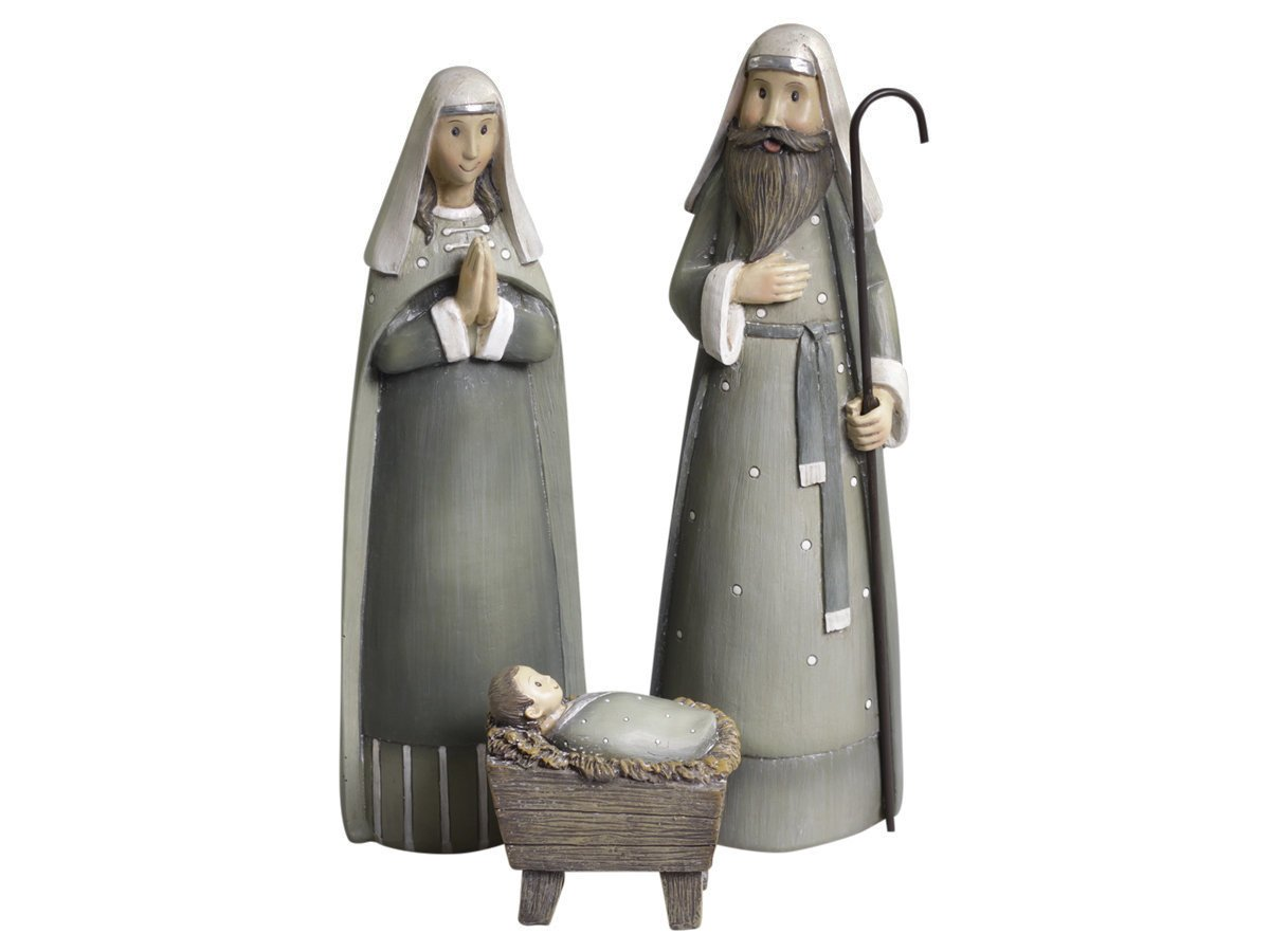 Chic Antique Maria und Josef mit Jesus Set