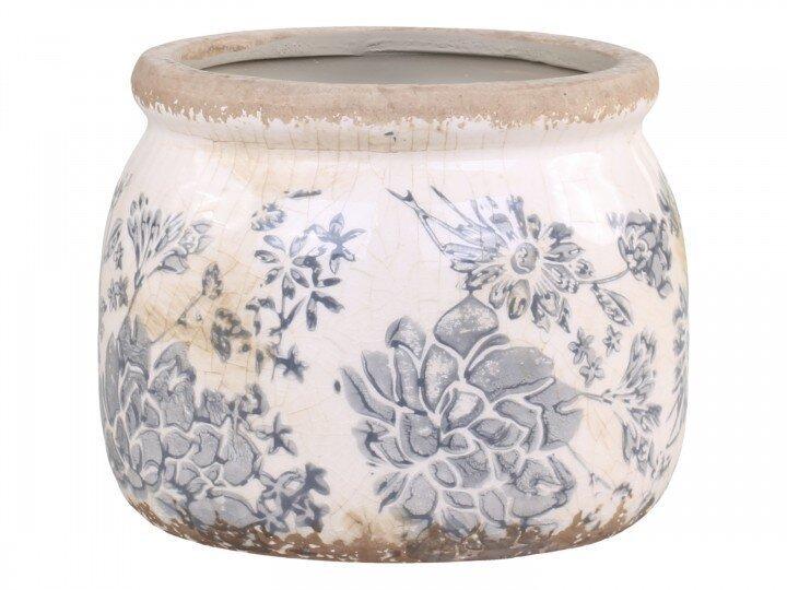 Chic Antique Melun Blumentopf Französisch