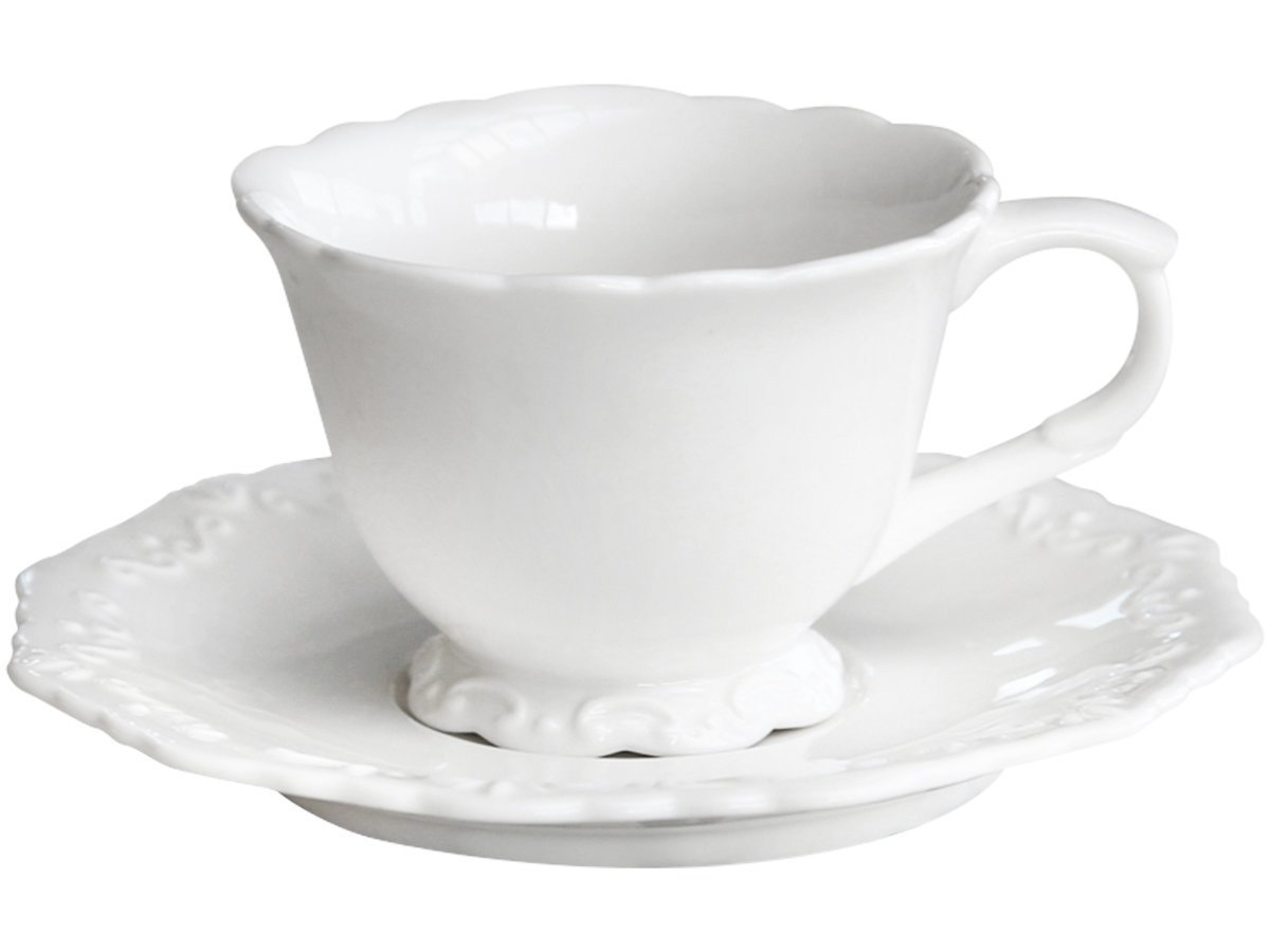 Chic Antique Provence Kaffeetasse mit Untertasse